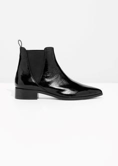 & Other Stories image 1 of Chelsea Boots in Black