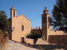 Corsica - Ponte-Leccia - Corse --- Castifao Eglise Saint-Nicolas et chapelle de Confrérie Saint-Antoine de Janvier