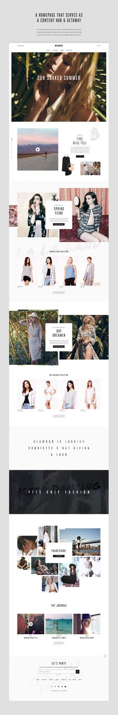 The new BB Dakota eCommerce platform streamlines the purchase decision process by providing the user with a highly contextualized shopping experience from beginning to end. The site delivers a rich, immersive experience through big imagery, high-quality b… - Love a good success story? Learn how I went from zero to 1 million in sales in 5 months with an e-commerce stor