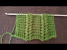 Latest No Cost Tunisian Crochet poncho Tips You've seen this nuts tow hooks which are widely used to help to make Tunisian crochet , along wit Tunisian Crochet Stitches, Crochet Motifs, Crochet Poncho, Knitting Stitches, Free Crochet, Knitting Patterns, Crochet Patterns, Crochet Videos, Crochet For Beginners