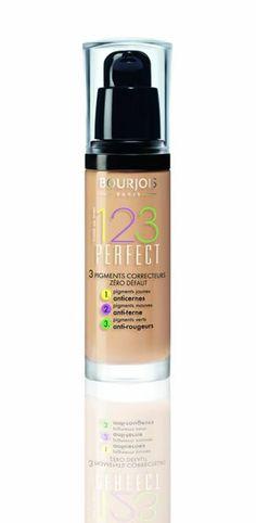 Bourjois Fond De Teint Perfect Foundation - 56 Beige Rose, 30 ml Bourjois Cosmetics, Bourjois Makeup, Foundation For Mature Skin, Perfect Foundation, No Foundation Makeup, Liquid Foundation, Drugstore Foundation, Rimmel, Makeup Products