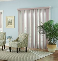 Bali® Fabric Vertical Blind: Runway Ecco