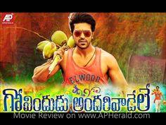 Govindudu Andarivadele Telugu Movie Review, Rating on www.APHerald.com