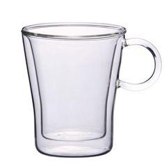 Borosilicate Double-Walled Glass Mug 220ml - collecasia.com