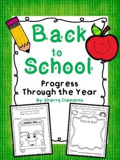 This Back to School: Progress Through the Year pack is great for showing student progress throughout the school year in many areas. It shows progress in coloring, name writing, drawing self, family, and house, writing ABCs and numbers, and drawing a picture and writing about it (writing pages include plain lines and dotted lines).$