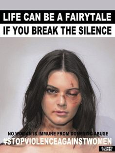 chicpenguins:  kendallkylie-news:  December 1: Kendall Photographed by Artist Alexsandro Palombo for the No Women Is Immune From Domestic Abuse Campaign.  I don't agree with the people the campaign chose to photograph. At all. What the fuck is this.  They didn't photograph them, the artist took red carpet pics and altered them through photoshop. Kim and Kendall are reportedly suing him since he used their images without permission