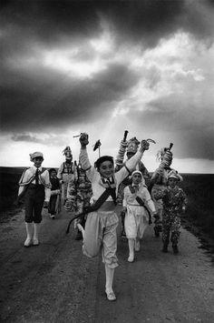 Magnum Photos Photographer Portfolio Cristina Garcia Rodero SPAIN. El Hito. 1980. The blue dancer.