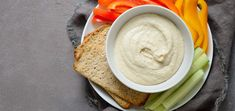 Make this roasted garlic white bean dip with five simple ingredients in just five minutes of hands-on prep work. You're going to love it! White Bean Dip, White Beans, Fresh Garlic, Roasted Garlic, Vegetable Sticks, Spicy Salsa, Butter Beans, Five Ingredients, Raw Vegan Recipes