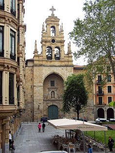 Basque Country, Bizkaia, Bilbao, San Vicente Church