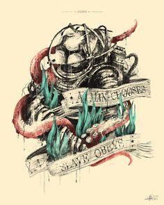 bioshock tattoo - Google Search                                                                                                                                                                                 More