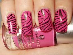 nails - animal print