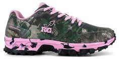 Size 7.5 M Women's Realtree Girls Mamba Camouflage Pink Tennis Shoes RW4022651 #Realtree #Tennis