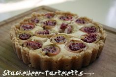 vegan gooseberry-tarte