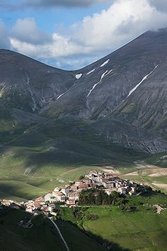 High above #Castelluccio #Umbria, #Italy ©Hans Couwenbergh Photography Perugia
