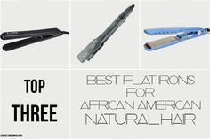 Top 3 Best Flat Irons For Natural Hair | African American Hair | #HSI #Sedu #Babyliss