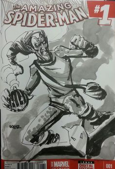 Green Goblin Sketch Cover from San Diego Comic-Con 2014 - Joel Gomez