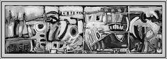 "Inspired By Jazz Musician Thelonious Monk – ""Misterioso"" #jazz #TheloniousMonk #blackandwhitepaintingsabstract #blackandwhitepaintingsart #blackandwhitepaintingsacrylic #blackandwhitepaintingspaper"