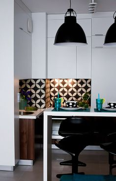Project: KowalczykGajda; Tiles: Purpura. #cementtiles