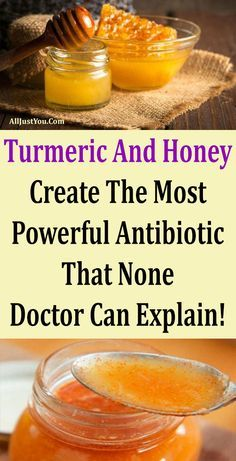 Turmeric And Honey Create The Most Powerful Antibiotic That None Doctor Can Explain! #health #beauty #honey #turmaric #fitness #healthy