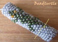 Специфика вязания толстых бисерных жгутов. Обсуждение на LiveInternet - Российский Сервис Онлайн-Дневников