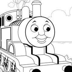 Thomas The Tank Engine Black And White Thomas Free