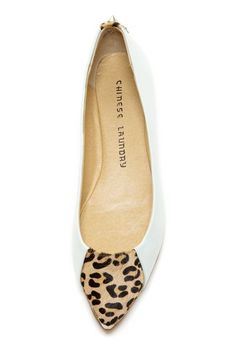 Add a dash of animal-print sass with these Chinese Laundry pumps.