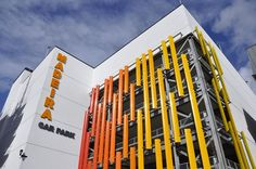 Multi-storey car park Bournemouth. Procurement & commercial management for developer. (Opened 2014) #BuildingOptions #QS #Construction #Consultants #CBC #Bournemouth #QuantitySurveyor #ProjectManager #CommercialManagement #Refurb #NewBuild #Commercial #BQ #Developer #JigsawSolutions #EmployersAgent  #CostPlanning #JointVentures #Property #CarPark BriseSoleil www.BuildingOptions.co.uk