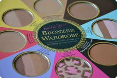 Too Faced The Little Black Book of Bronzers - Redhotjillypeppers