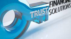 Trust Financial Solutions Logo - Perspective A 3DS MAX
