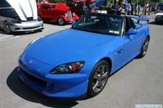 S2000 CR. As seen at the April 2014 Cars and Coffee Austin TX USA.