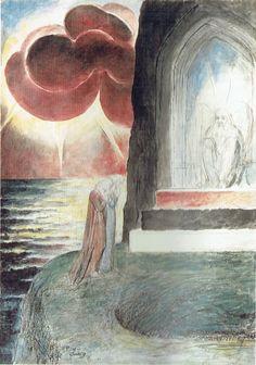 81-Dante e Virgilio davanti all'angelo guardiano...