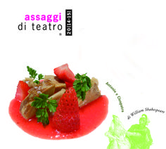 Alla tavola di Antonio e Cleopatra di Shakespeare #assaggiditeatro #romagourmet #red