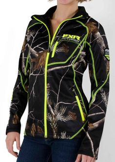 FXR Women's ELEVATION PILE ZIP UP - Realtree Black camo (2015). $99.99