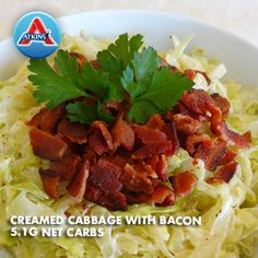 A side dish with everyone's favorite ingredient--bacon! Good for all phases.