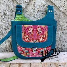 Moxie Crossbody Bag Pattern by Betz White
