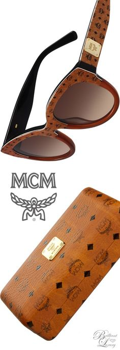 Brilliant Luxury   MCM Printed Cat-Eye Logo-Temple Sunglasses Lunettes De  Soleil, a9337aedbede