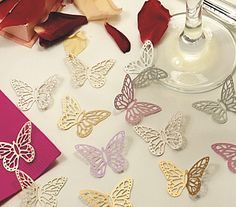 Butterfly Shapes from CelebrationsPlus.com £3.95 for 25