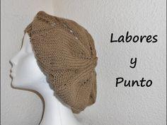 Aprende a tejer una boina en dos agujas. Parte 1 de 3 - YouTube en español