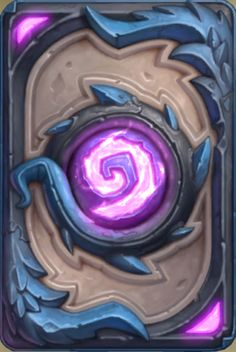 Hearthstone card back Blue flight Season 51 June 2018 Trading Card Template, Card Templates, Le Grand Tournoi, Hearthstone Game, Game Card Design, Hearth Stone, Elemental Powers, Old Cards, Collectible Cards