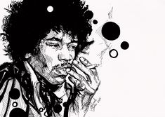 Unique art and designs for unique people. Acryl on canvas, sketches and graphic design. Fashion Art, Fashion Design, Jimi Hendrix, Unique Art, Sketches, Graphic Design, Ink, Portrait, Drawings