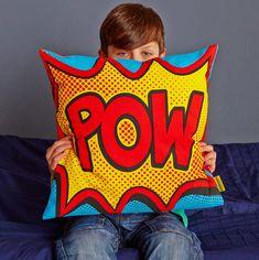 Pow Comic Book Cushion