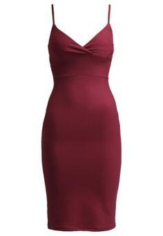 Sukienka letnia - red burgundy