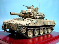 M551 Sheridan by Rolando Raffaut (Tamiya 1/35 Model).