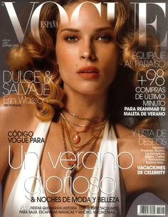 Erin Wasson by Regan Cameron Vogue España July 2005
