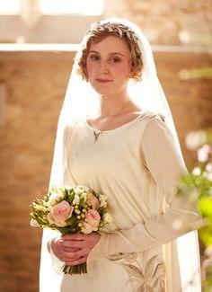 Tocados Le Touquet: El vestido de Lady Edith
