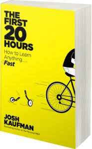 """""""Learn Anything in 20 Hours"""" with Josh Kaufman (Marketing Insights Podcast) one of the teachers at UofP recommended this book. Ways Of Learning, Learning Skills, Electronic, Learn A New Skill, Learn A New Language, Learn French, Higher Education, Reading Lists, The One"""