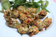 Những món hải sản cay xé lưỡi