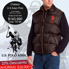 #US #POLO #ASSN, #Chaleco