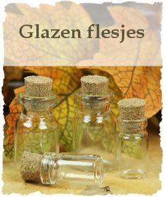 Glazen mini flesjes