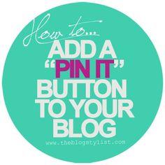 add a pin it button